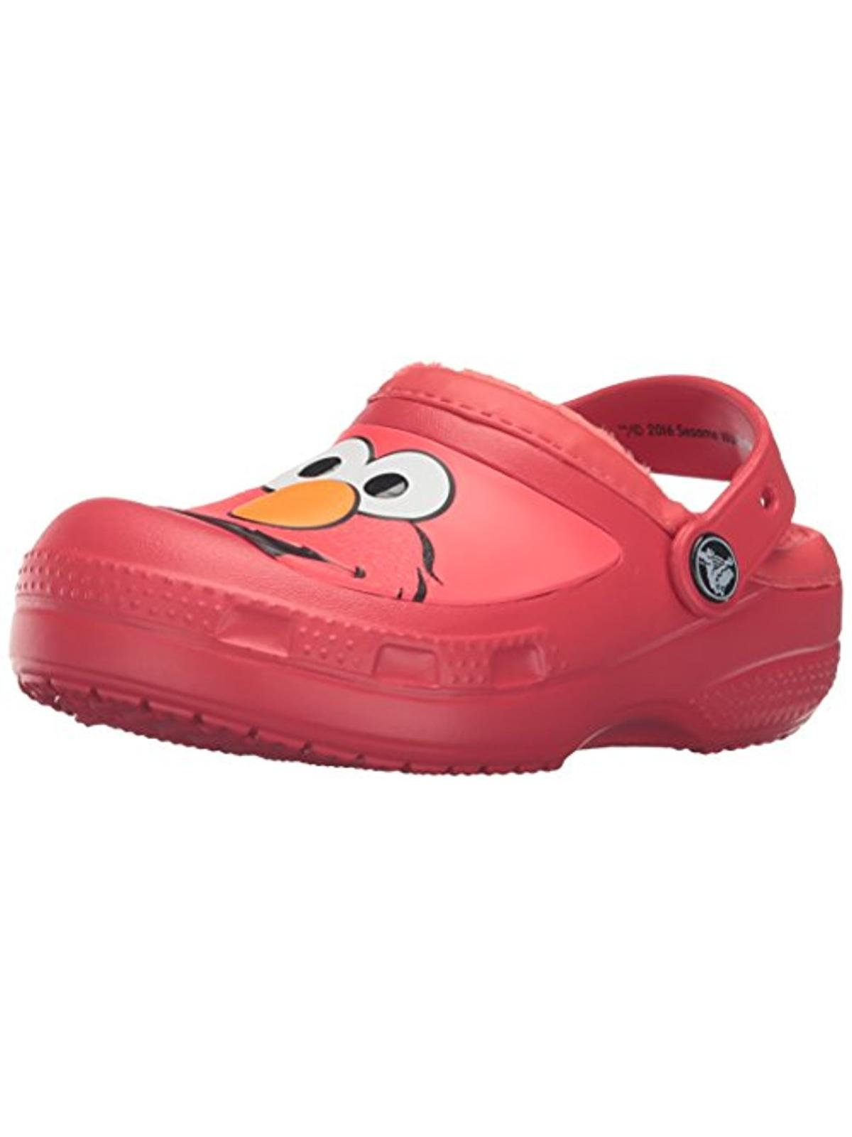 Crocs Boys Elmo Little Kid Faux Fur Clogs by Crocs