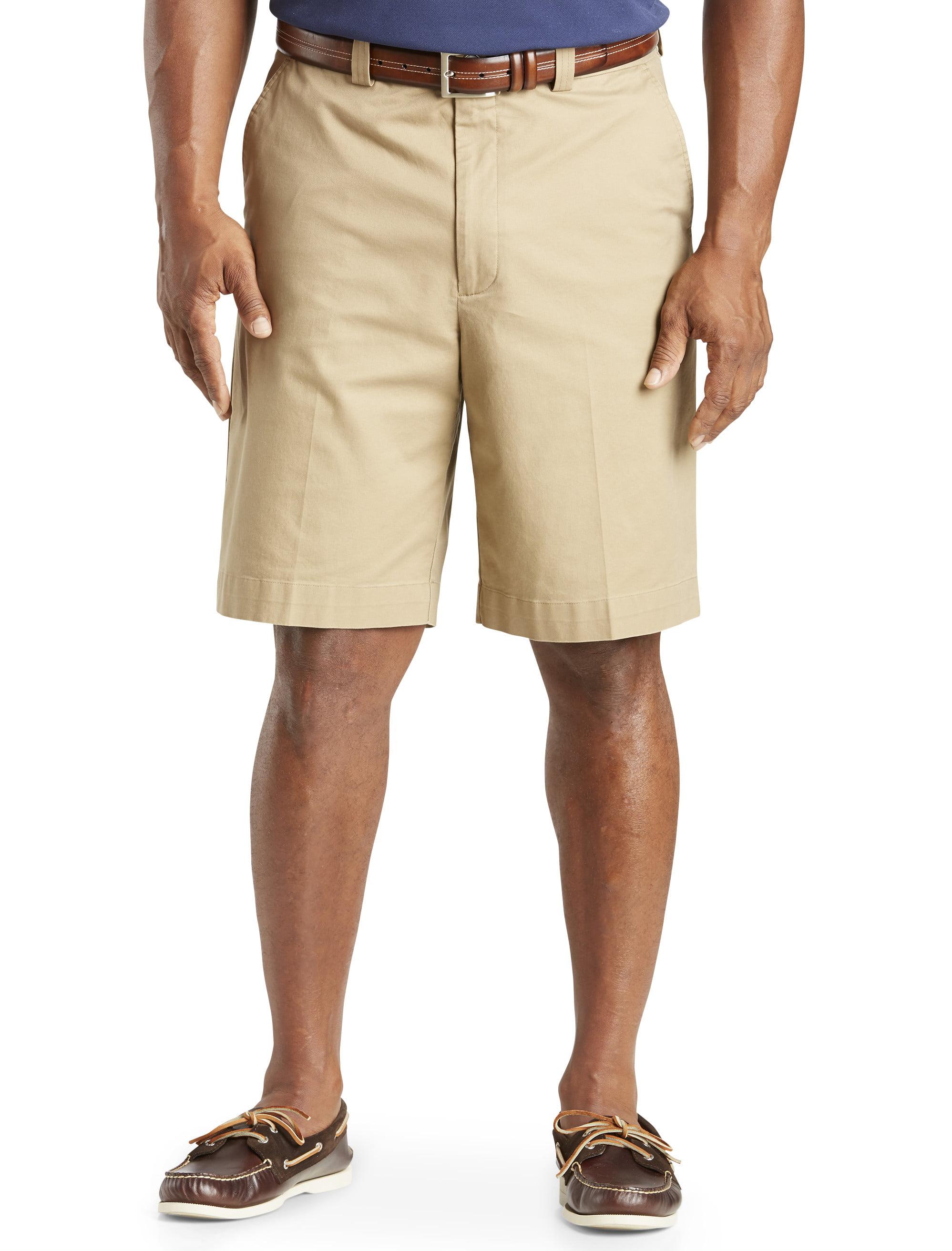 Men's Big & Tall Oak Hill Comfort Stretch Chino Shorts