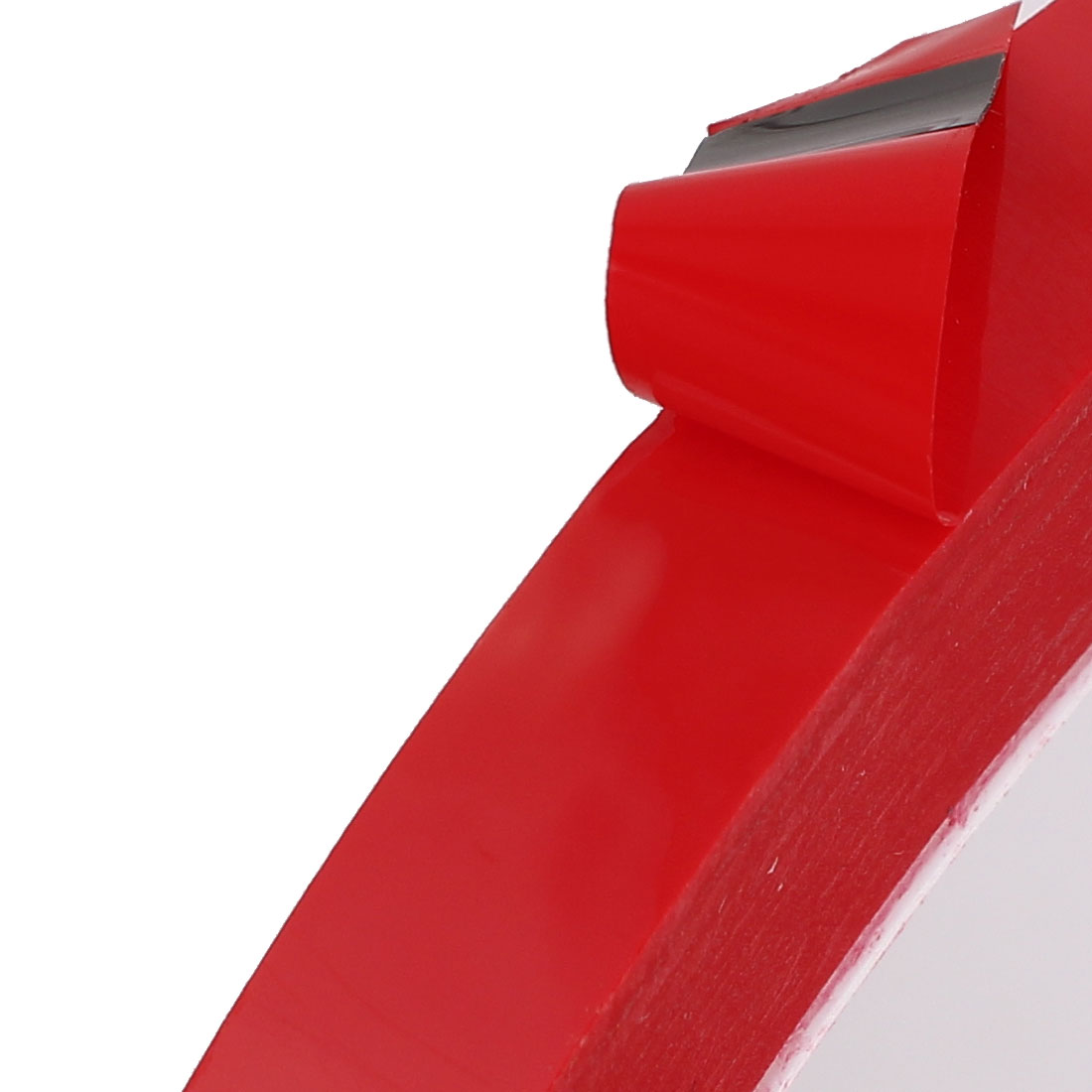 8mm x 66M Marking Tool PVC Electrical Insulation Floor Warning Tap Red - image 1 de 3