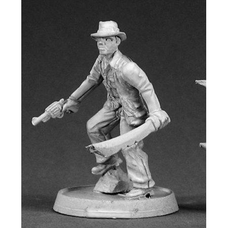 Reaper Miniatures Jack Harrison, Adventuring Hero #50008 Chronoscope Mini - Jack Miniature