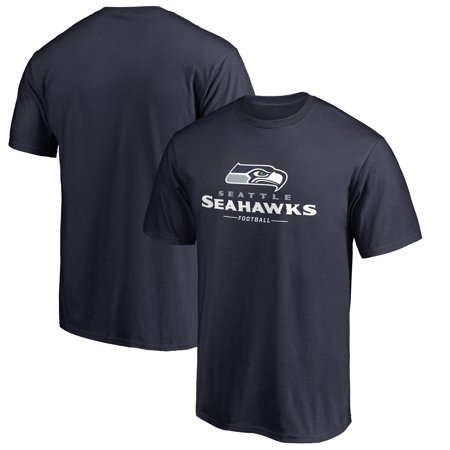 Pro Team Color (Seattle Seahawks NFL Pro Line Team Lockup T-Shirt - College)