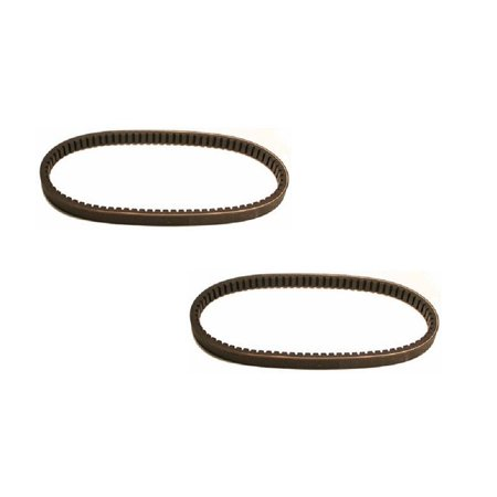 (2) New TORQUE CONVERTER Cogged Go Kart Cart BELTS for Yerf Dog Q43103W Q43203W by The ROP