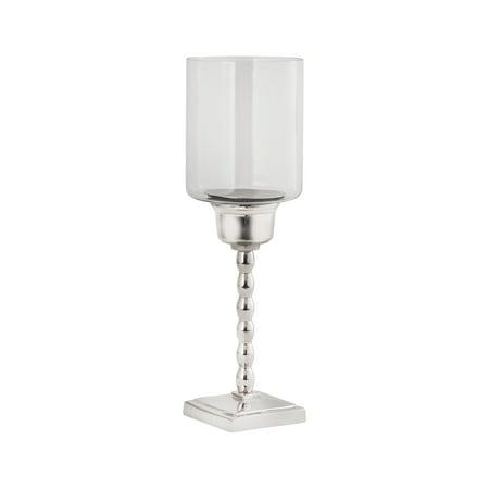 Pomeroy Urban Candle Holder In Aluminum Finish 621680