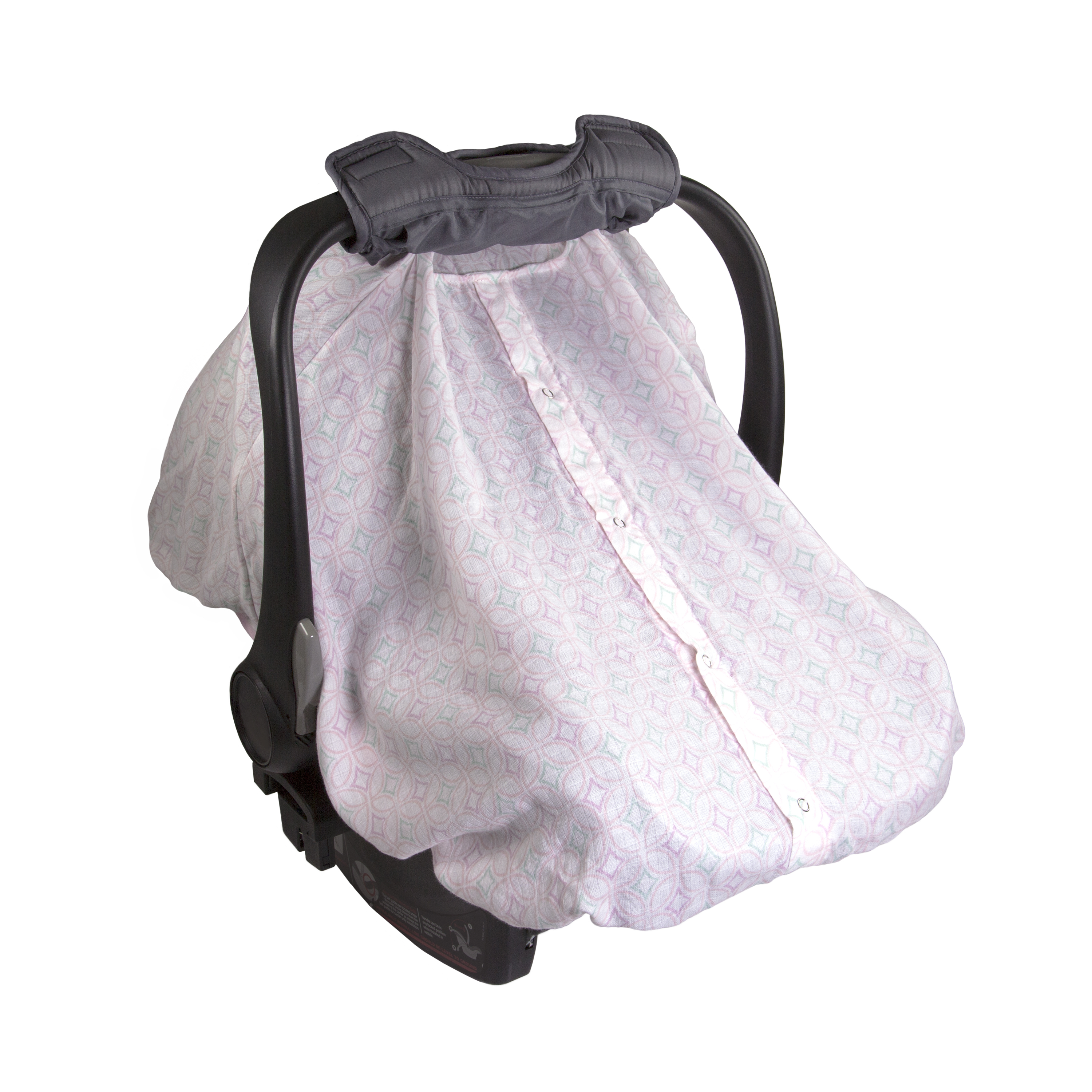 Summer Infant Muslin 2 in 1 Car Seat Carry - Medallion Days