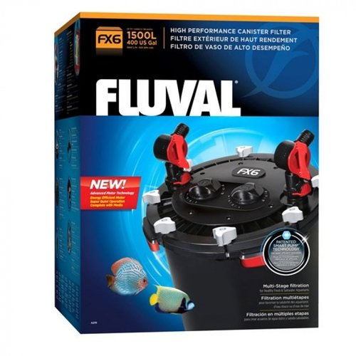 Fluval FX6 High Performance Canister Filter FX6 Filter - 925 GPH - For Aquariums up to 400 Gallons