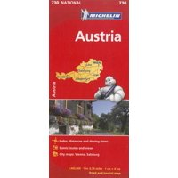 Michelin austria road and tourist map: 9782067171725