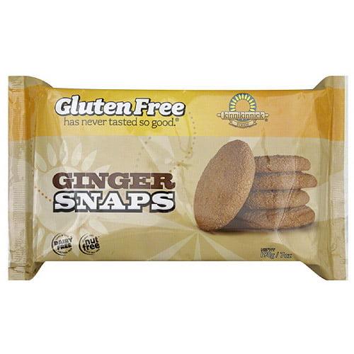 Kinnikinnick Foods Ginger Snaps, 7 oz, (Pack of 6)