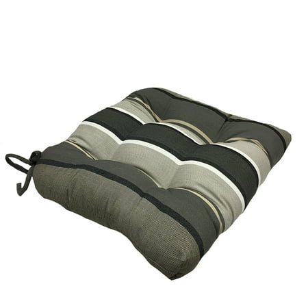 Better Homes and Gardens Lin Rev/Stripe Wicker Seat Cushion - Set of 2 ()