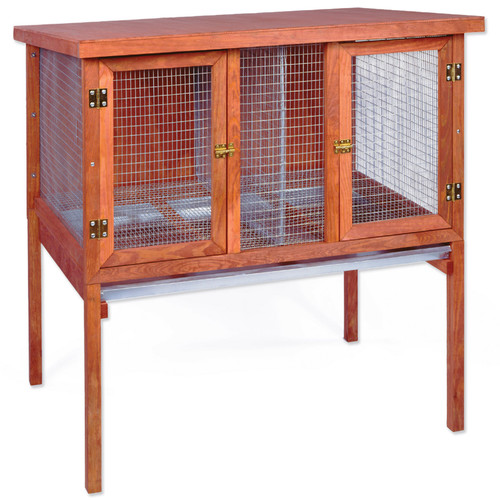 Ware Manufacturing Double Rabbit Hutch