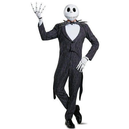 Jack Skellington Prestige Adult Costume - Halloween Skellington