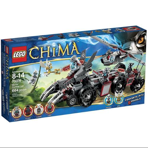LEGO Legends of Chima Worriz' Combat Lair Set #70009