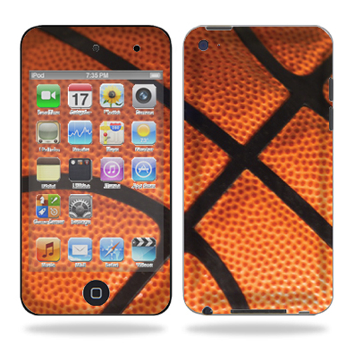 Skin Decal Wrap for iPod Touch 4G 4th Generation – Basketball