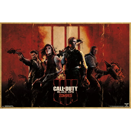 Call of Duty: Black Ops 4 - Zombie Key Art Poster