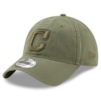 new style 1e7e2 244ec Product Image Cleveland Indians New Era Tonal Bark Core Classic 9TWENTY  Adjustable Hat - Green - OSFA