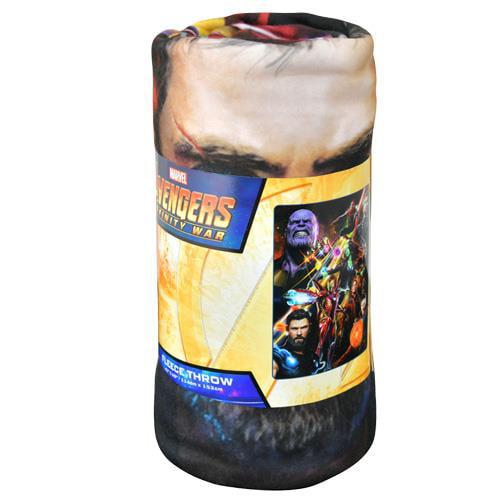 Avengers Team Infinity 45x60 Fleece Throw Blanket