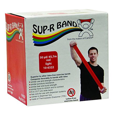 Cando Sup R Band Latex Free Exercise Band