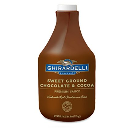 Chocolate Sweet Ground Chocolate & Cocoa Sauce, 87.3-Ounces Plastic Bottle
