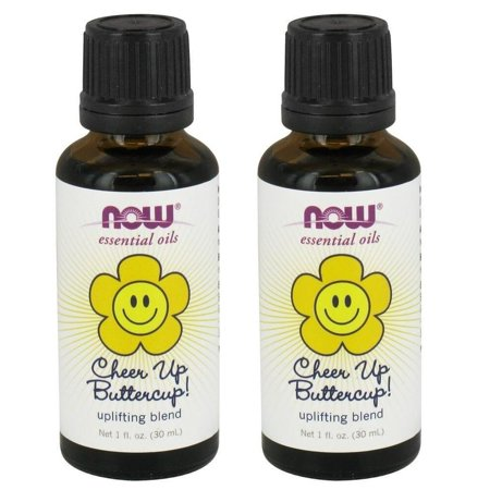 Now Foods - Essential Oils, Cheer Up Buttercup! Uplifting Blend, 1 fl oz (30 ml) - 2 Packs (Uplifting Blend)