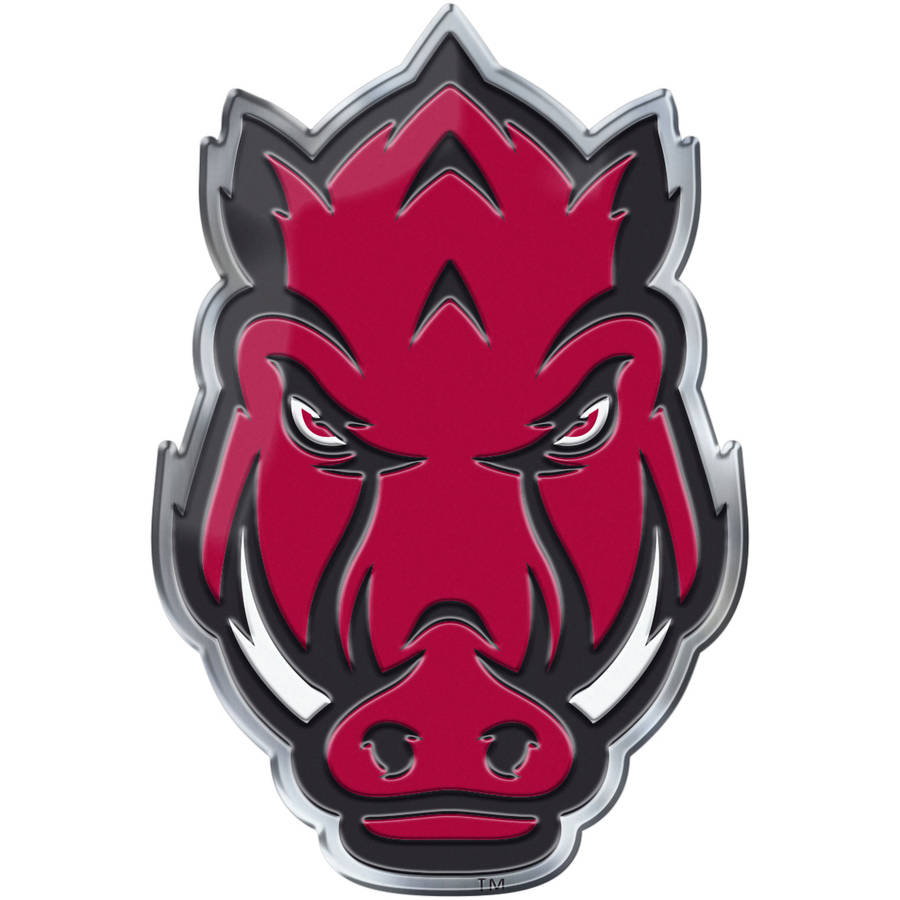 NCAA Arkansas Razorbacks Alternative Color Bling Emblem