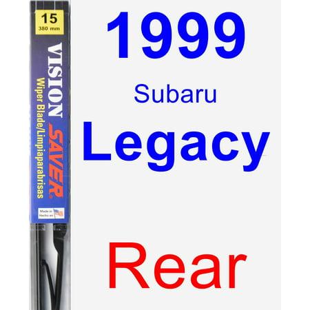 1999 Subaru Legacy Rear Wiper Blade - Vision Saver