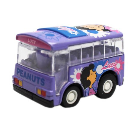 Peanuts Lucy Lavender Colored Mini Model Bus Toy](Lucy Dress Peanuts)