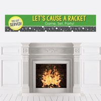 You Got Served - Tennis - Tennis Ball Party Decorations Party Banner