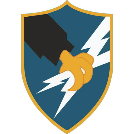 3.8 Inch Army Security Agency Decal