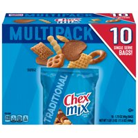 Chex Mix Savory Traditional Snack Mix, 17.5 oz Bag