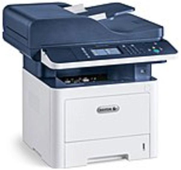 Refurbished Xerox WorkCentre 3345/DNI Laser Multifunction Printer - Monochrome - Plain Paper Print - Desktop - Copier/Fax/Printer/Scanner - 42 ppm Mono Print - 1200 x 1200 dpi Print - Automatic