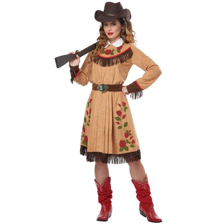 Cowgirl/Annie Oakley Adult Costume (Jo Rich Halloween)