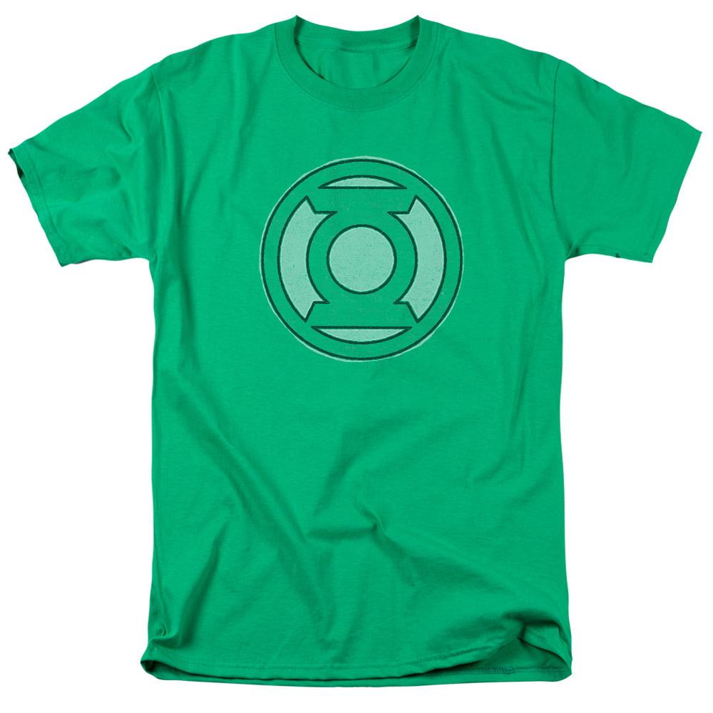 Green Lantern Hand Me Down Mens Short Sleeve Shirt