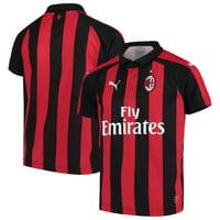 AC Milan Puma Youth 2018/19 Home Replica Jersey - Red/Black