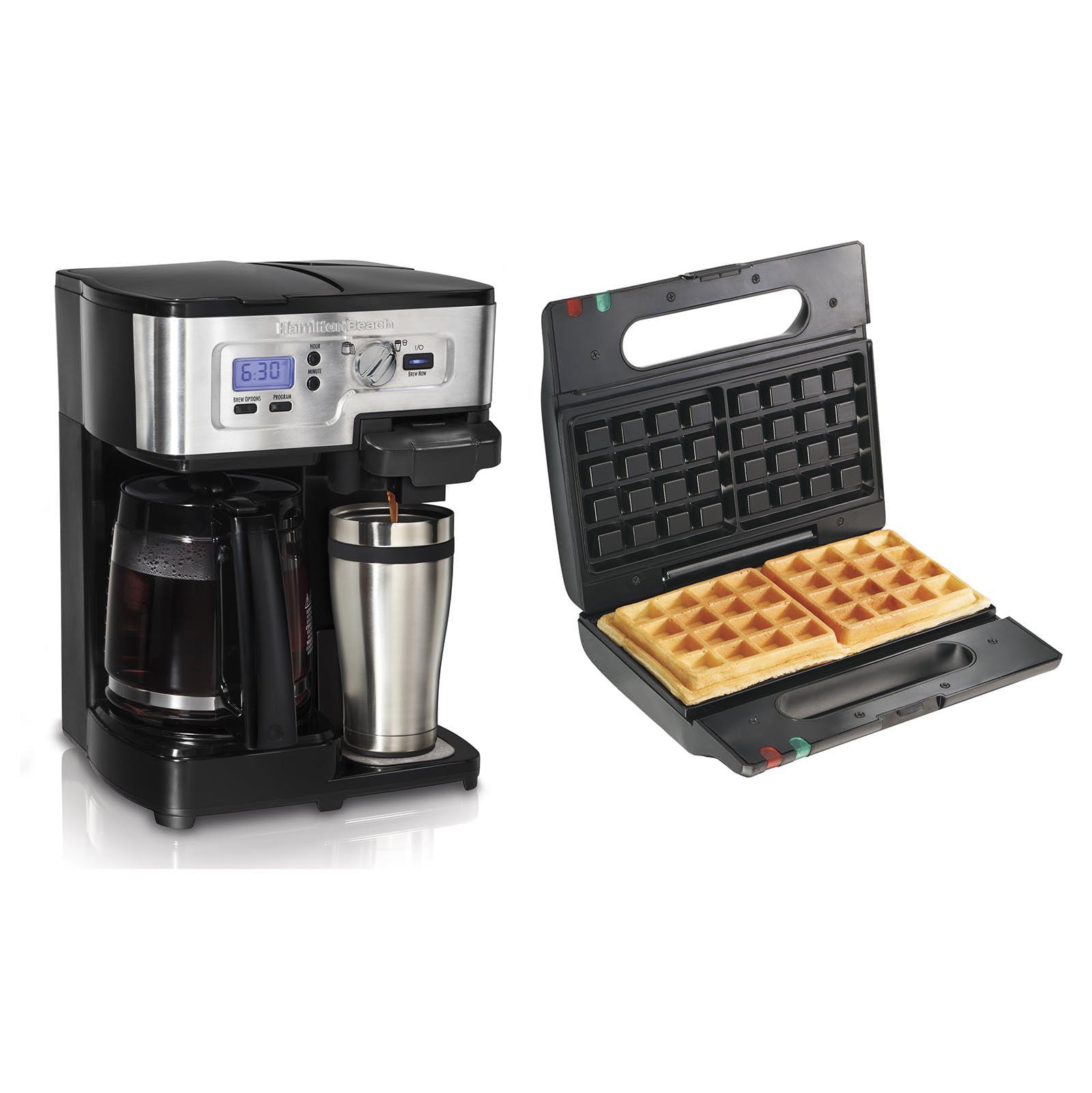 Hamilton Beach FlexBrew 12 Cup Coffee Maker + Proctor-Sil...