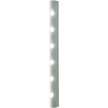 Motion Activated 6 LED Strip Light - Battery Operated (Halloween Light Activated Screamers)