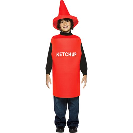Ketchup Child Halloween Costume - One Size for $<!---->