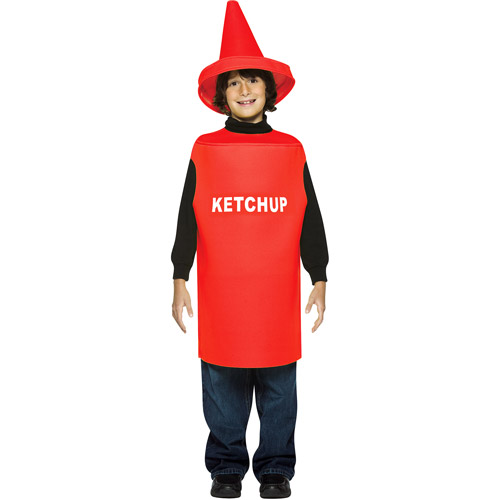 Ketchup Child Halloween Costume - One Size  sc 1 st  Walmart & Ketchup Child Halloween Costume - One Size - Walmart.com