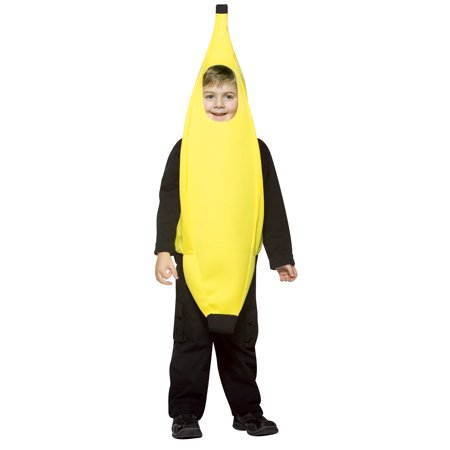 Banana Child Halloween Costume, One Size, (4-6x)