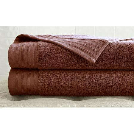 Spa Collection Zero Twist Cotton 2 Pack Bath Sheet Retreat Bath Sheet