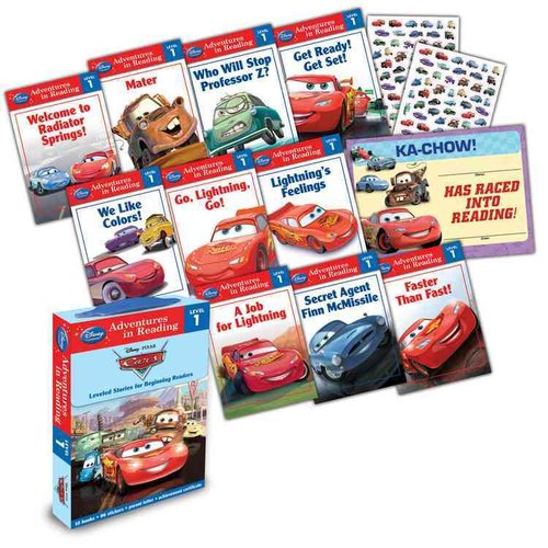 Cars: Leveled Stories for Beginning Readers