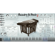 Three Body Technology Raindrop & Blade Chinese Hammered Dulcimer
