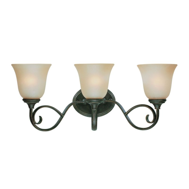 Jeremiah Barret Place 3 Light Bath Vanity Light