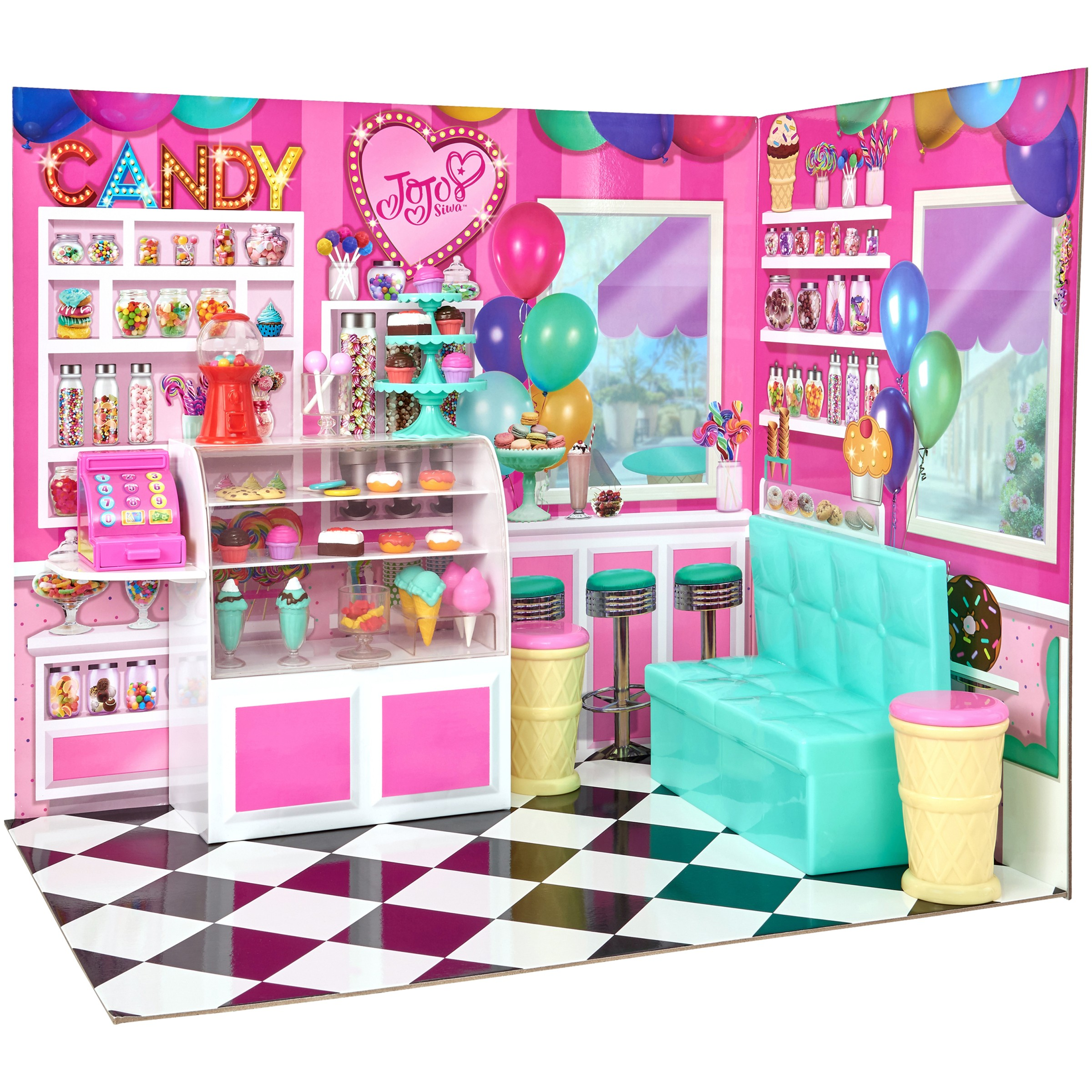 My Life As Jojo Candy Shop Play Set, Vibrantly Colored for Interest