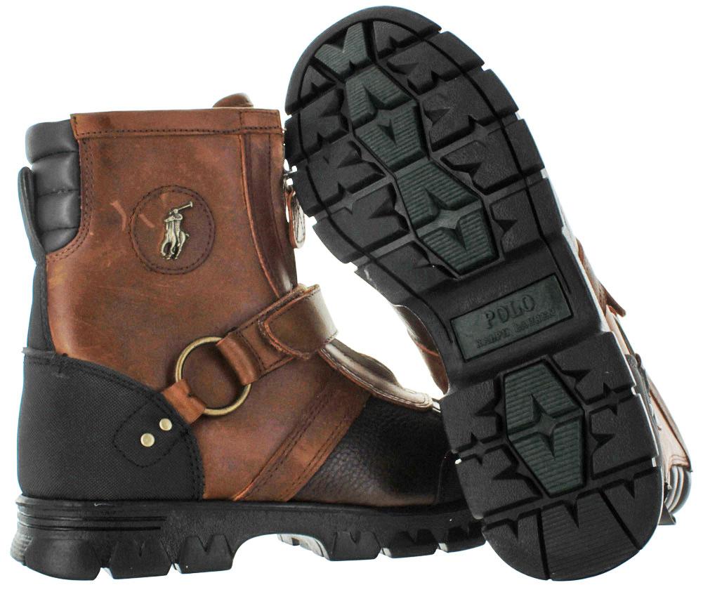 e7c7f0081e Polo Ralph Lauren - Polo Ralph Lauren Conquest III Men s Winter Duck Boots  Leather - Walmart.com