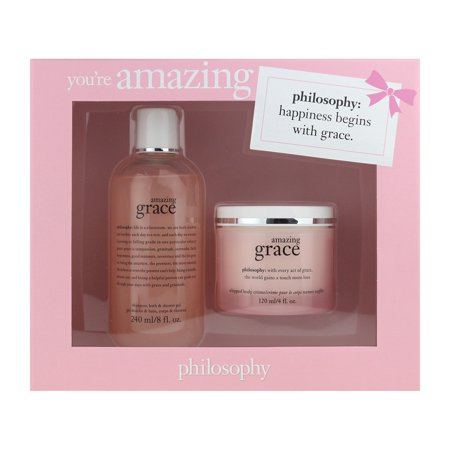 Grace Gift Set - Philosophy You're Amazing Gift Set Amazing Grace 3 In 1 Bath & Body Creme