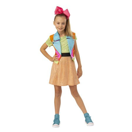 Paper Halloween Costumes (Rubies Exclusive Jojo Siwa Girls Halloween)