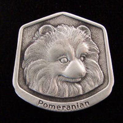 Pomeranian Fine Pewter Dog Breed Ornament