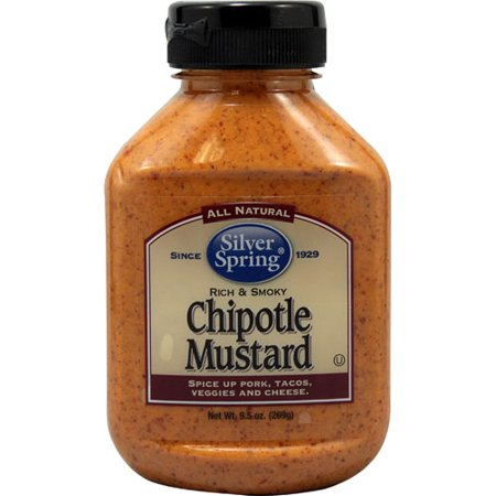 Silver Spring Chipotle Mustard -- 9.5 oz pack of 1