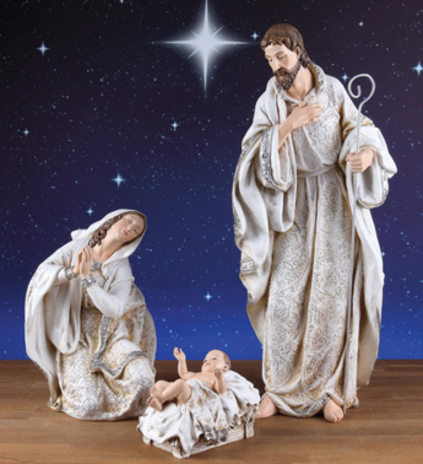3 Piece Holy Family Nativity Figures 22.5""