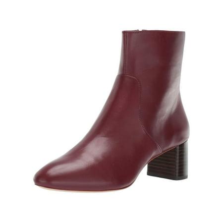Loeffler Randall Women's Gema-sc Ankle Boot, Bordeaux, Size