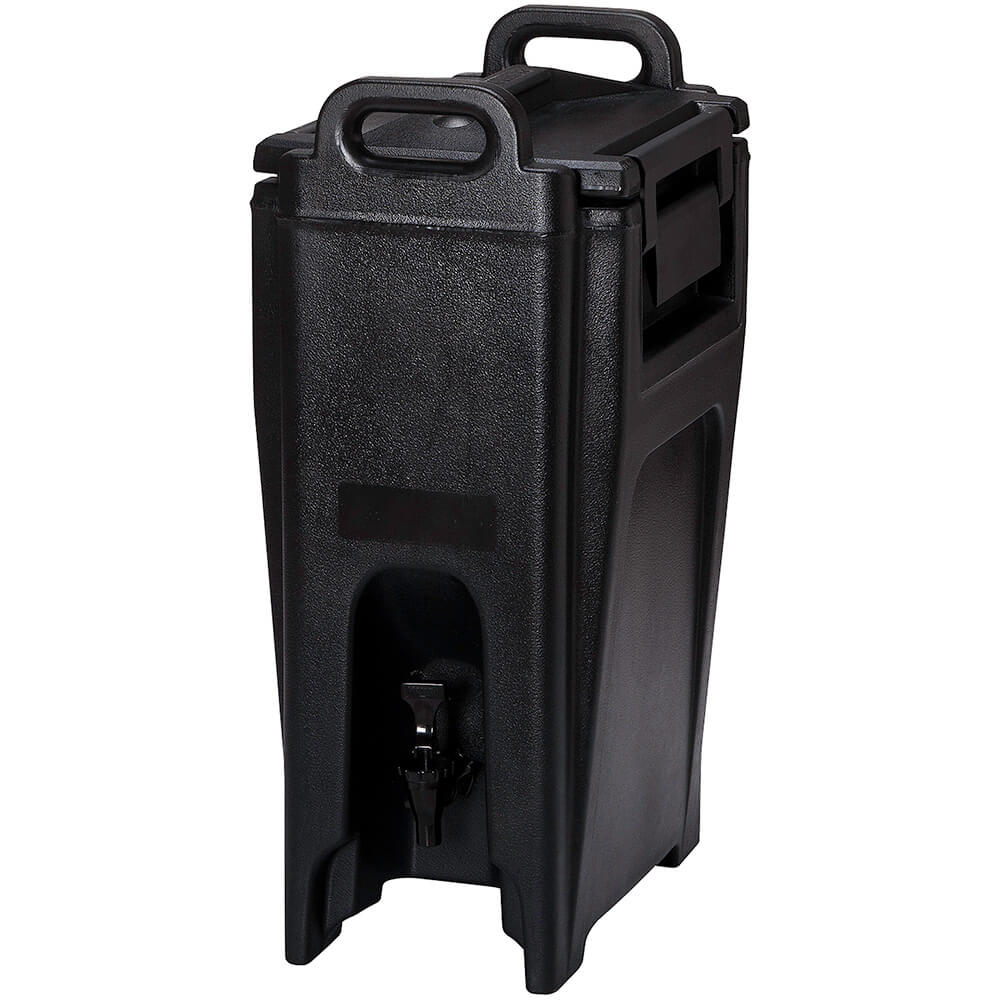 Cambro 5.25 Gal. Insulated Beverage Dispenser, Ultra Camtainer, Black, UC500-110